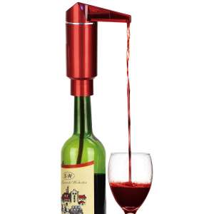 Electric Wine Aerator, Instant One Touch Operation Portable Wine Decanter Pump