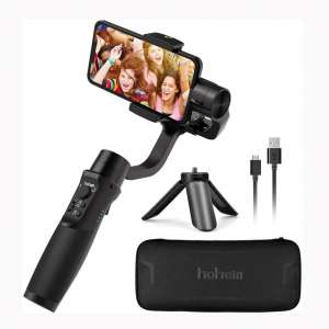 Hohem iSteady Mobile Plus, 3-Axis Handheld Gimbal Stabilizer for Smartphones