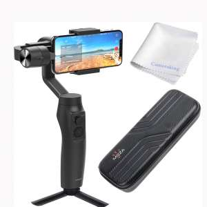 MOZA Mini-MI 3-Axis Gimbal stabilizer for Smartphone iPhone Vlog Youtuber Live Video Record Wireless Phone Charging Multiple