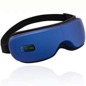 Eye Massager,Portable Electric Bluetooth Eye Massager with Heat Air Pressure Vibration,Relieve Eye Strain Dark Circles Eye Bags