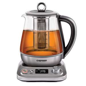 Chefman Programmable Electric Kettle with Temperature Control