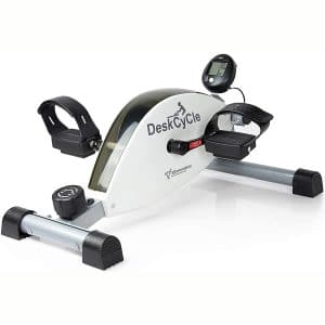 DeskCycle Under Desk Bike Pedal Exerciser – Mini Exercise Peddler – Stationary Cycle for Home & Office