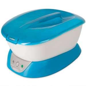 HoMedics ParaSpa Paraffin Wax Bath | Wax Warmer | Bonus 3 lb Paraffin Wax & 20 Hand Liners | Soothing Hand & Foot Spa | Moisturizing System | Hypoallergenic