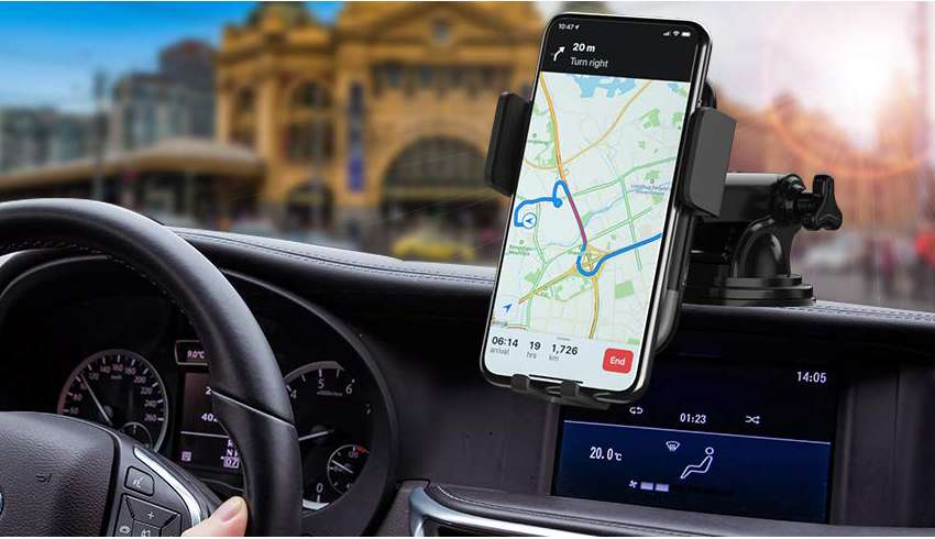 image feature automatic phone mounts