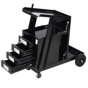 COSTWAY 100lbs Portable Welding Cart