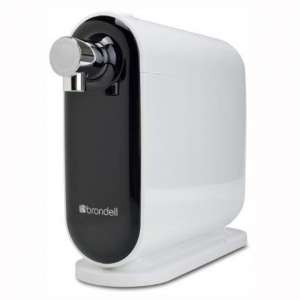 Brondell H630 H2O+ Cypress Countertop Water Filter System, 11.5x11x4.25, White:Black