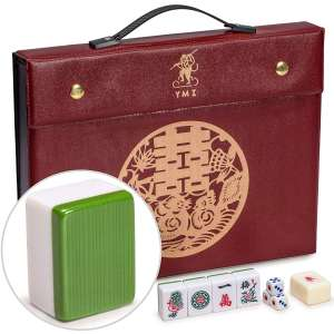 2. Yellow Mountain Imports Professional Chinese Mahjong GAME Set