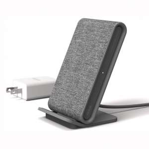 iOttie Ion Wireless Fast Charging Stand || Qi-Certified Charger 7.5W for iPhone Xs Max R 8 Plus 10W