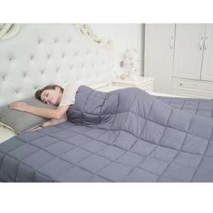 CuteKing Weighted Blanket for Queen or Full-Size Bed