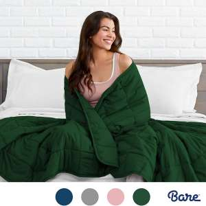 Bare Home Weighted Blanket for Adults and Kids