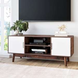 Nathan James Retro Style TV Stand