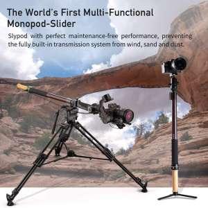 MOZA Slypod, World First's 2-in-1 Motorized Slider & Monopod, 5-axis Camera Robotic Movement