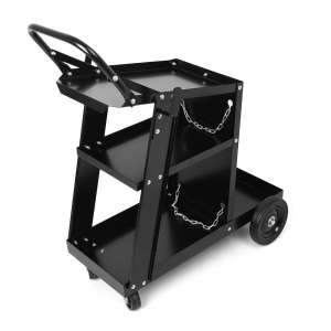 Mallofusa 100lbs Welding Cart with Handle