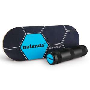 NALANDA Balance Board for Fitness, Yoga, and Training