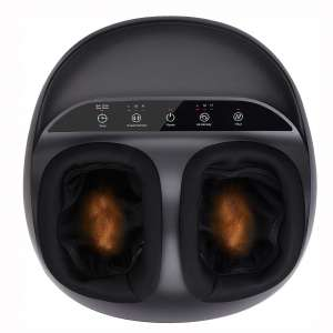 RENPHO Shiatsu Foot Massager Machine with Heat, Deep Kneading Therapy, Air Compression, Relieve Foot Pain from Plantar Fasciitis