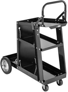 VIVOMOME 176lbs Welding Cart with Handle