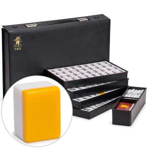 Yellow Mountain Imports Japanese Riichi Mahjong Set