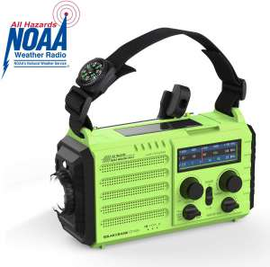 OnLyee Hand Crank Radio