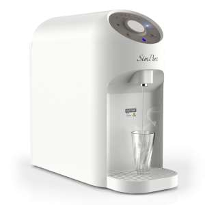 SimPure Y5 Instant Heat Reverse Osmosis Water Filtration System - 4 Stage Countertop RO Water Filter with 4 Temperature Settings - 5-1 Drain Ratio