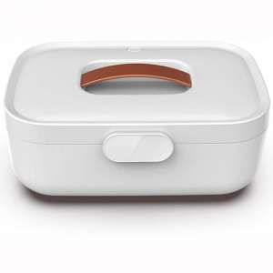 Sisyria UV Cell Phone Sanitizer Small Dryer Box 65℃ Constant Temperature Drying Box 2 in 1 Disinfector UV Cleaner