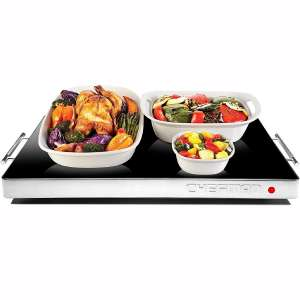 Chefman Electric Warming Tray with Adjustable Temperature Control, Perfect For Buffets, Restaurants, Parties, Events, Home Dinners