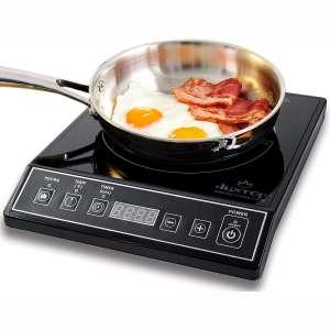 Duxtop 1800W Portable Induction Cooktop Countertop Burner, Black