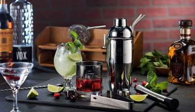 image feature Cocktail Shaker Set