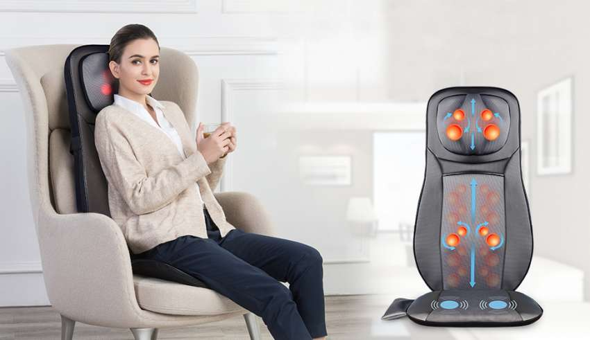 image feature back massager for chair