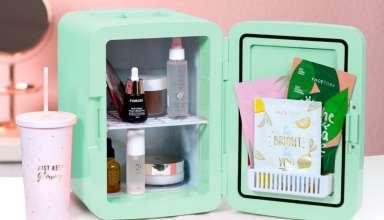 image feature portable mini fridge