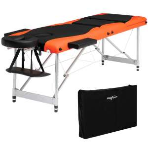 Mefeir Folding Massage Table 73'' w:Carrying Bag, 3-Fold Portable Spa Salon Beauty Tattoo Bed w:Aluminum Legs