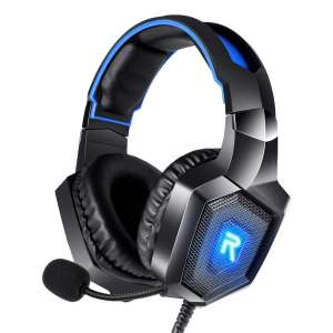 RUNMUS Stereo Gaming Headsets and Noise Canceling Microphone