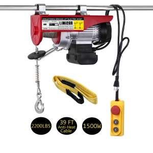 LIMICAR 2200LBS Overhead Electric Hoist Crane