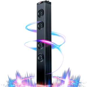 Floor Standing Bluetooth Tower Speaker, Floor Speakers for Home Stero System, Floor Standing Speakers Home Theater