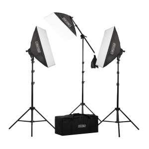 Fovitec Fluorescent Softbox Lighting Kits