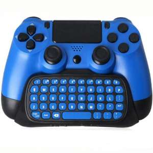 PS4 Keyboard,Prodico 2.4G Wireless Chatpad Message Keyboard for PS4 Controller Update Version