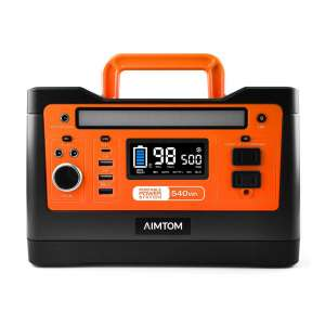 AIMTOM 540Wh Portable Power Stations