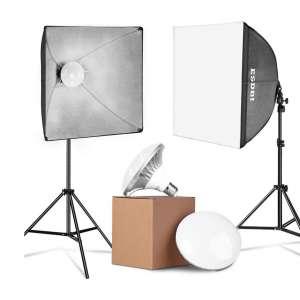 ESDDI LED Photography Softbox Lighting Kits