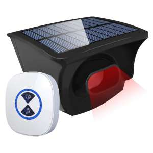 #2. Otdair Solar Driveway Alarm System