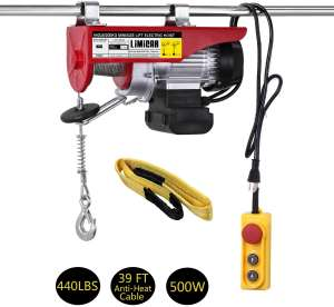 LIMICAR 440LBS Power Lift Hoist