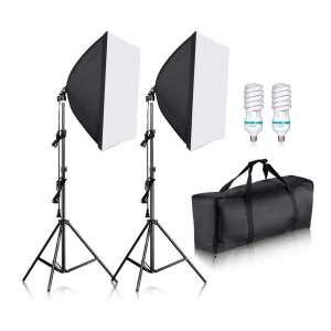 Newer Professional Photography Softbox Lighting Kits