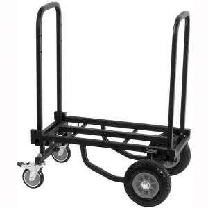 On-Stage UTC2200 Folding Multi-Cart:Hand Truck:Dolly with Expandable Telescoping Frame, 485 lb. Load Capacity