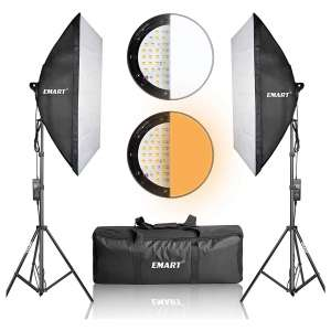 Emart Photography Softbox Lighting Kits