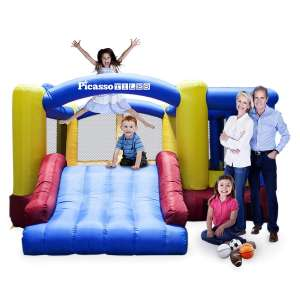 PicassoTiles Inflatable Bounce House
