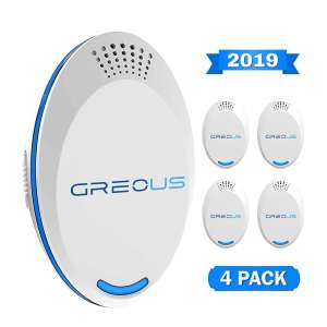 GreoUS Ultrasonic Pest Repellers Pack of 4
