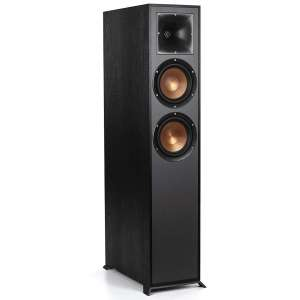Klipsch R-625FA Powerful detailed Floorstanding Single Home Speaker Black