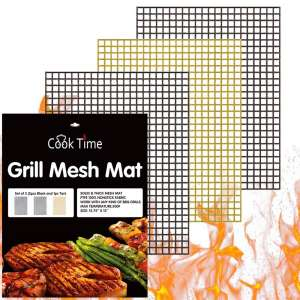 Cook Time BBQ Grill Mesh Mat