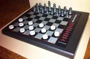 Excalibur Alphar 2 in 1 Electronic Chess & Checker