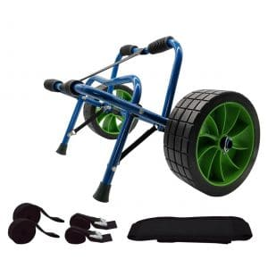 Newcod Kayak Cart for Canoe Boat- Airless and no-flat Tires