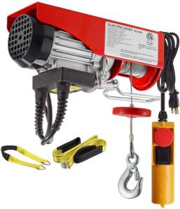 Partsam 220lbs Electric Lift Hoist