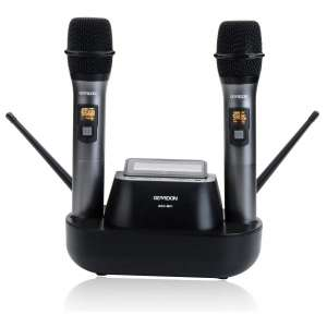 GEARDON Dual UHF Handheld Wireless Microphones